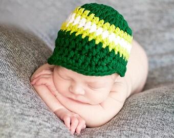 Baby Boy Hat Newborn Hat Baby Boy Clothes Newborn Photo Prop Emerald Green Baby Hat Lime Green Newborn Cap Baby Boy Cap Photography Prop