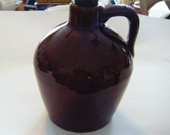 Antique Roycroft Pottery Jug Well Marked Has Original Cork Important Piece