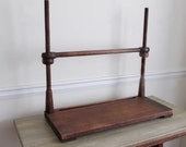Primitive Book Binding Frame. Book Sewing 19th Century. Folk. Handmade Walnut.