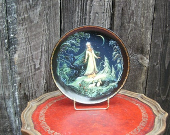 The snow maiden Russian Collectors Plate