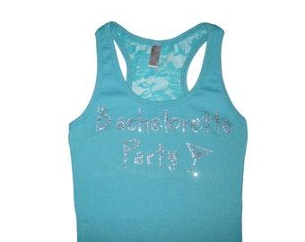 Bachelorette Party Bridesmaid Lace Tank Top Shirt. Bride Tank Top Shirt. Wedding Party. Bachelorette Party. Bridesmaid Tank Top Shirt.