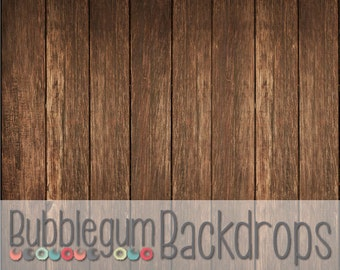 Dark Grunge Wood - Vinyl Photography  Backdrop Photo Prop