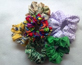 Set of 10 Scrunchies from the Grab Bag