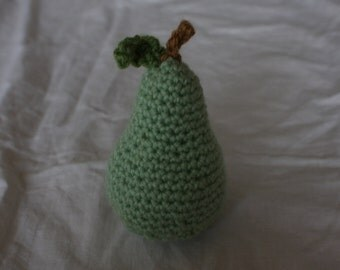 crochet pear