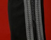 Ukrainian embroidered women's skirt. Size S-XXXL. ukrainian shirt, ukrainian embroidery, Color of embroidery  red, blue, white
