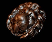 Imperial Lion Badge Antique Copperl finish  Steampunk Fantasy Costume stock clearance sale price