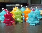 Robot Beeswax Birthday Ca...