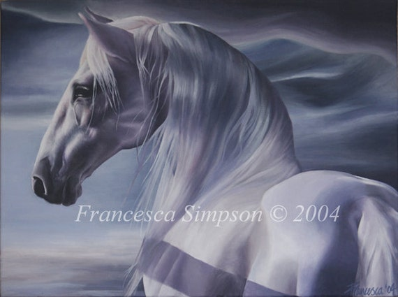 The Horse- Mounted Limited Edition Print
