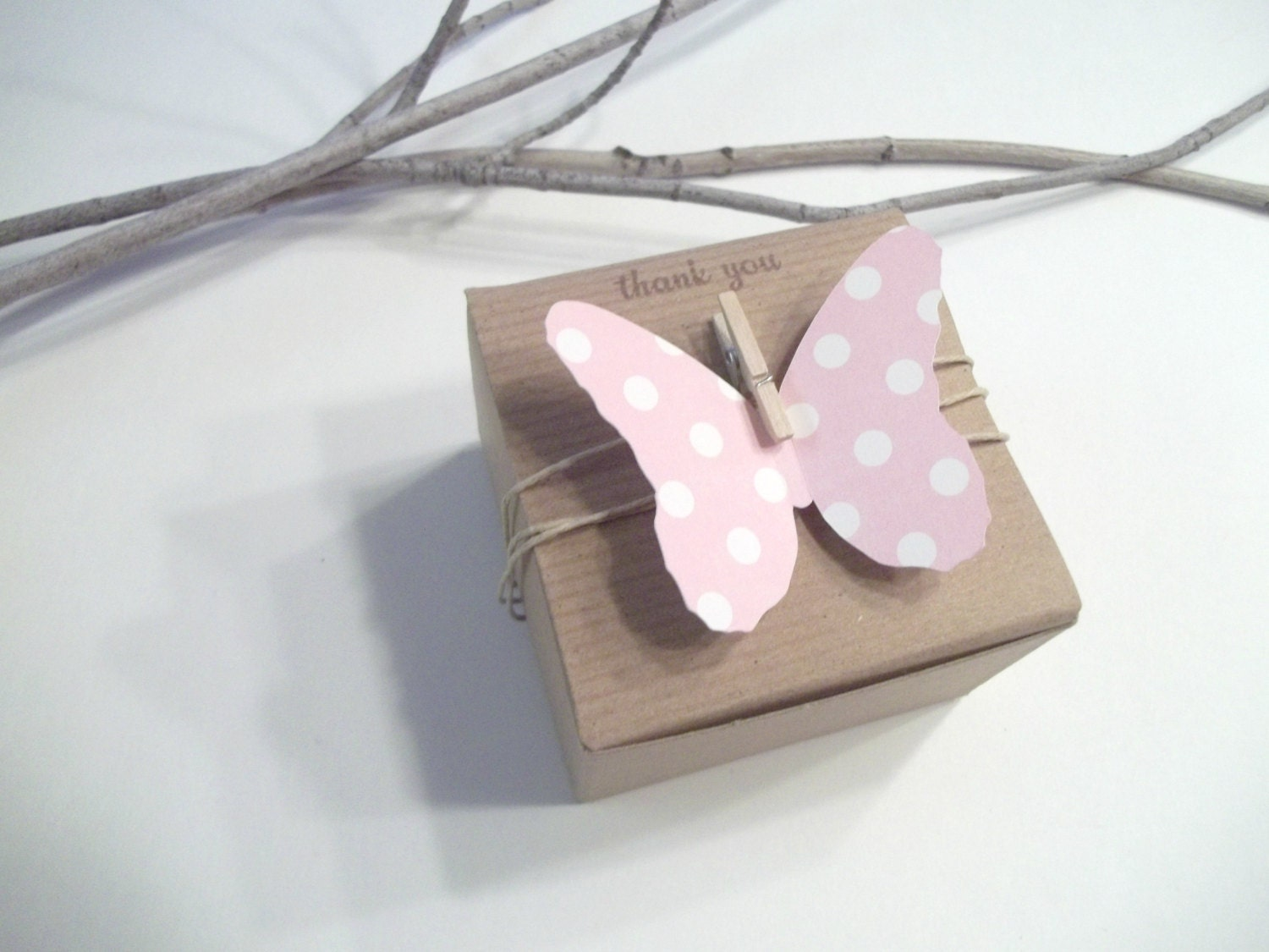 Favor Gift Boxes: 25 Butterfly Birthday Favor Boxes Baby Shower By TheLondonLoft