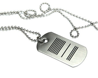 One Meaning - Frankly OM in Love Dog Tag  - all of our jewelry means I LOVE You
