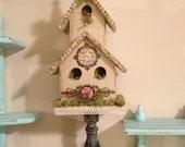 Large Decorative Birdhouse