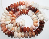 Natural Mexican Opal 7 to 8mm Smooth Rondell Gemstone Beads 13 Inches RN039