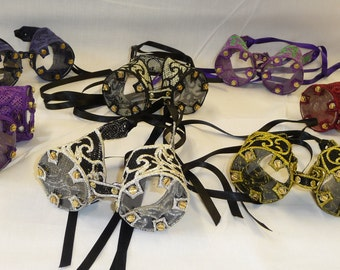 Embroidered Lace Steampunk Goggles