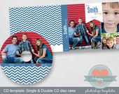 Banner digital CD and CD cases templates (single and double), photographer template, cd template, printable CD design