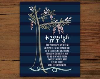 Jeremiah 17:7-8 Print