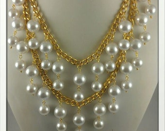 Inspired By 2 Broke Girls Necklace Bella Pearls
