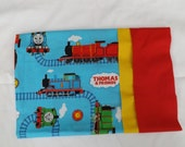 Thomas the Train personalized pillowcases 3 sizes    -Girl Fabrics also  great for gifting