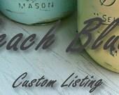 Custom Listing for Erin