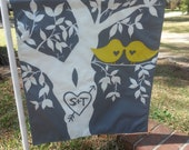 Custom Hand painted and sewn Garden flags- Multiple sizes