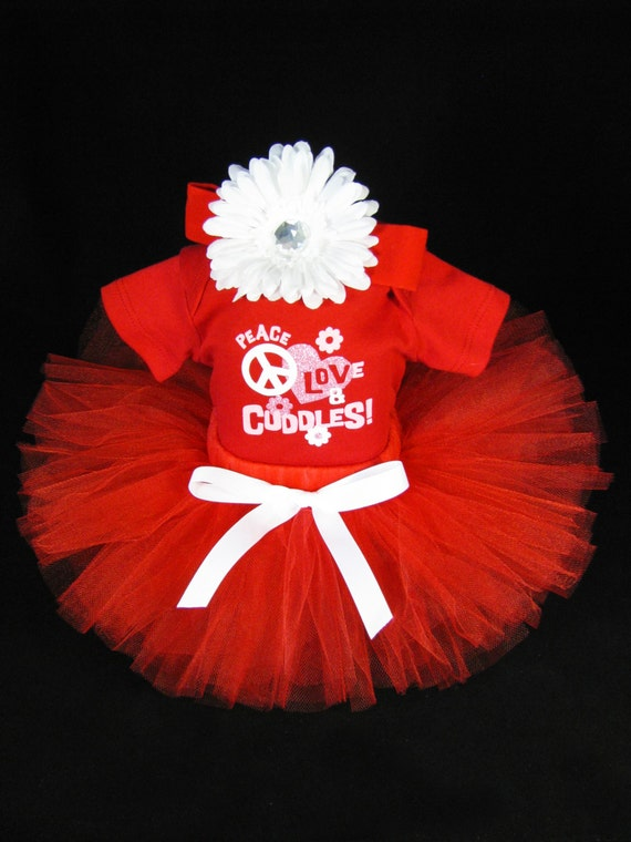 Baby Girl Valentines Day Outfit Babys By EleventhHourDesigns