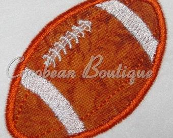 embroidery applique football