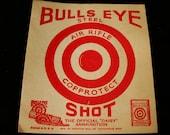 Vintage Bulls Eye Shot Daisy Air Rifle Target