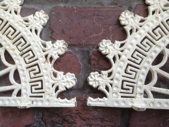 Architectural corner brackets cast iron by agelessalchemy for Architectural gingerbread trim