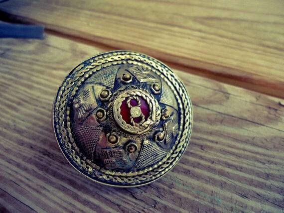 Big Turkmen Dome Ring