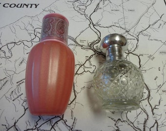Vintage Avon Perfume Bottles Lot of Two