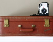 Vintage Suitcase 1940s Luggage Starline