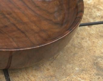 Tiger Striped Oregon Black Walnut Bowl FB5122