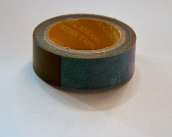 Japanese Washi Masking Tape Roll- Transitional Colors