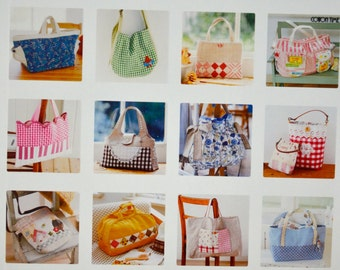Lovely Handmade Bags 77 - Cotton Time Special - Japanese Sewing Pattern Book for Women (In Chinese)