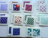 Felt Fabric Memory Game Abstract MINI Custom Order for Anazzari