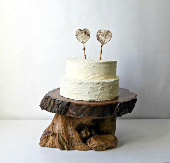 Items Similar To 16 Quot Tree Slice Wedding Cake Cupcake