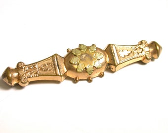 Gold Filled Victorian Brooch