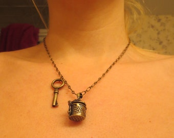 Locket and Key Necklace II