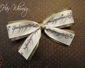 Lord of the Rings Hair Bow