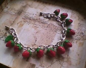 Fruit Charm Bracelets
