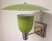 Mid Century Modern Style Lighting Moe LIGHT Inspired Wall Sconce GREEN SHADE
