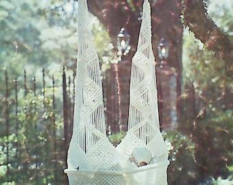 Vintage Macrame Cradle Swing Pattern
