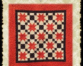 Fall Stars PDF quilt pattern