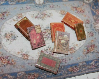 Dollhouse Miniature set of classic books ... set n. 20
