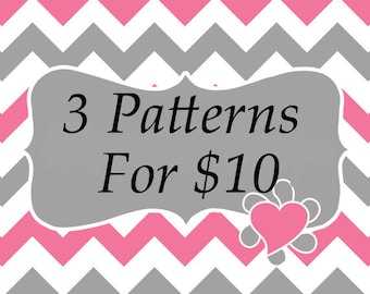 3 Patterns For 10