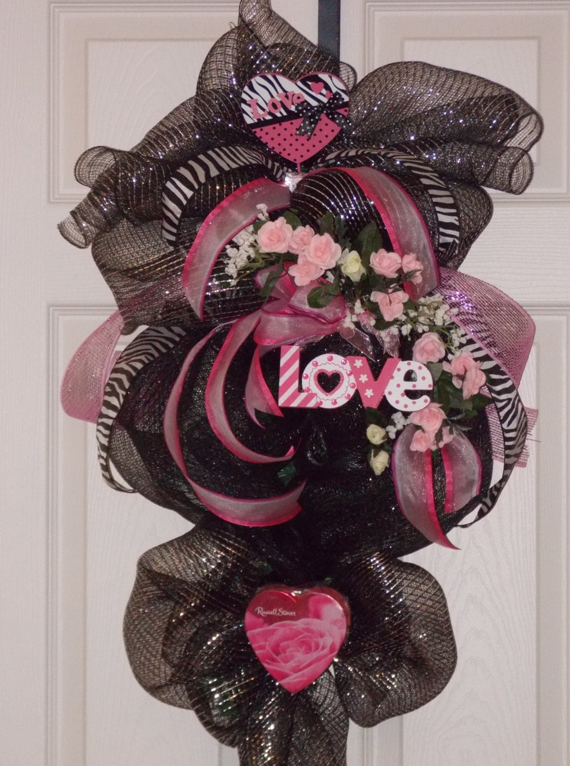 Valentine Deco Mesh Wreath Valentine Deco Mesh Swag Holiday