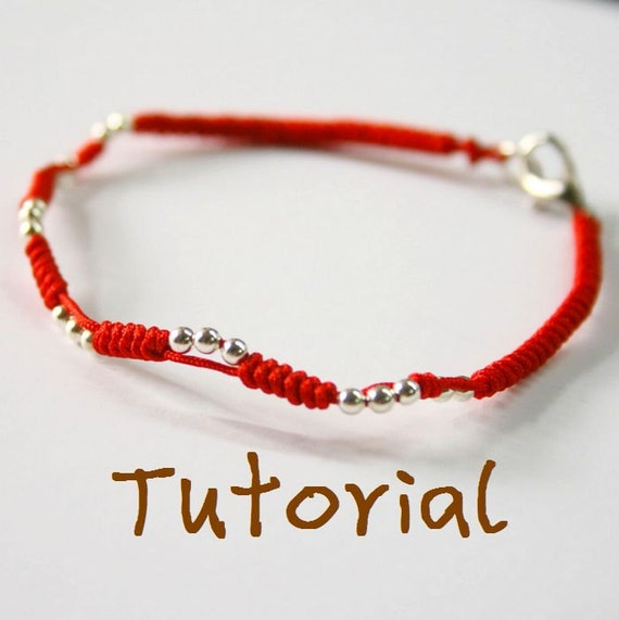 eBook(Dance with Light) - A Tutorial to Chinese knot bracelet/Friendship Bracelet/Wish Bracelet-Instant Download Pattern- FREE SHIPPING