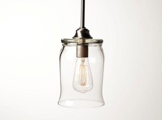 pendant light fixture edison bulb barrel by dancordero on etsy. Black Bedroom Furniture Sets. Home Design Ideas