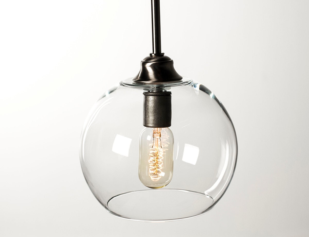 edison bulb pendant light fixture brushed nickel by dancordero