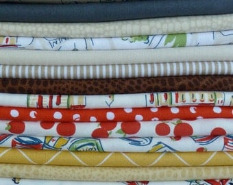 Dear Stella Va Bene Collection One 21 Piece Fat Quarter Yard Bundle