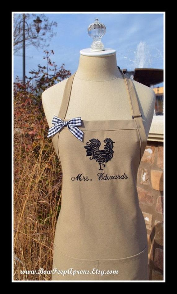 ... Farmhouse apron Chefs Baking Gift Idea Kitchen Apron Personalized Farm